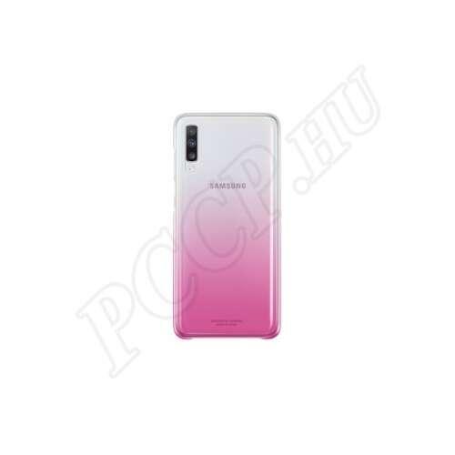 Samsung Galaxy A70 rózsaszín gyári színátmenetes hátlap