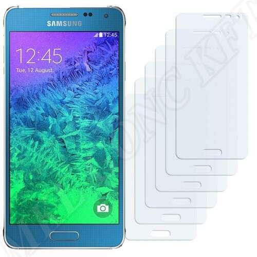 Samsung Galaxy Alpha (SM-G850F) kijelzővédő fólia
