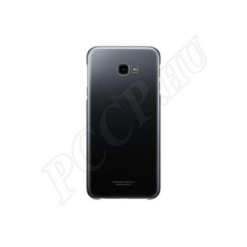 Samsung Galaxy J4 Plus fekete színátmenetes gyári hátlap
