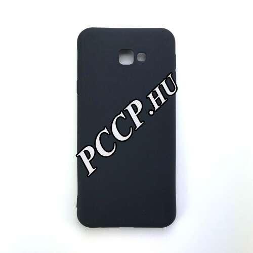 Samsung Galaxy J4 Plus fekete vékony szilikon hátlap
