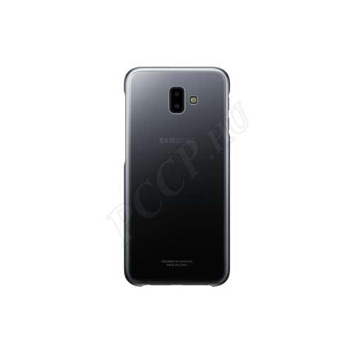 Samsung Galaxy J6 Plus (2018) fekete hátlap
