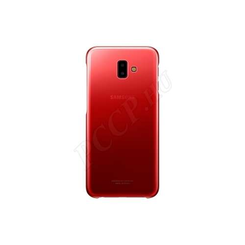 Samsung Galaxy J6 Plus (2018) piros hátlap