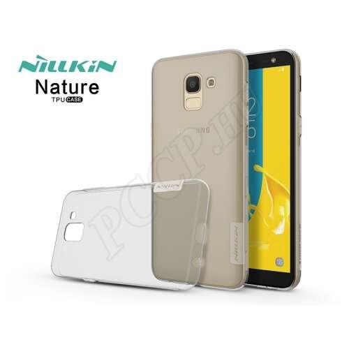 Samsung Galaxy J6 (2018) szürke szilikon hátlap