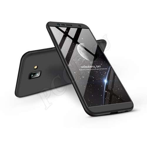 Samsung Galaxy J6 Plus (2018) fekete három részből álló védőtok