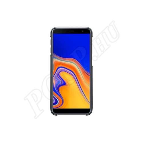 Samsung Galaxy J6 Plus fekete színátmenetes gyári hátlap