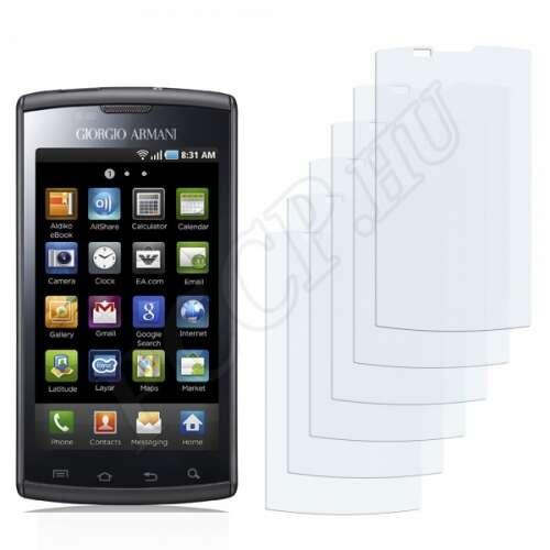 Samsung Galaxy S Giorgio Armani I9010 kijelzővédő fólia