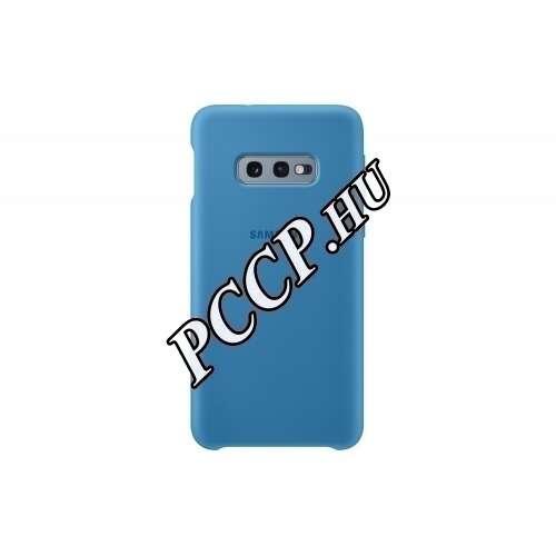 Samsung Galaxy S10 E kék szilikon hátlap