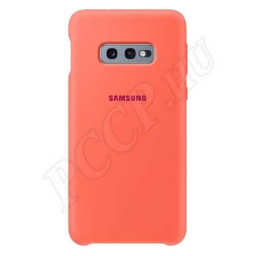 Samsung Galaxy S10 E rózsaszín gyári hátlap