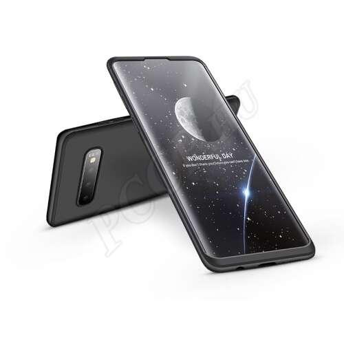 Samsung Galaxy S10 fekete három részből álló védőtok