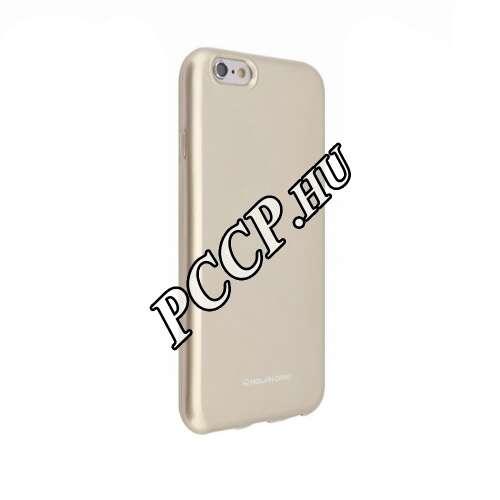 Samsung Galaxy S10 Plus arany szilikon hátlap