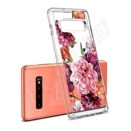 Samsung Galaxy S10 Plus virágmintás hátlap