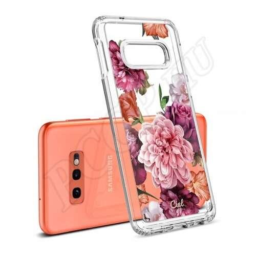 Samsung Galaxy S10e virágmintás hátlap