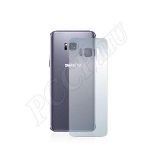 Samsung Galaxy S8 Plus (hátlap) kijelzővédő fólia