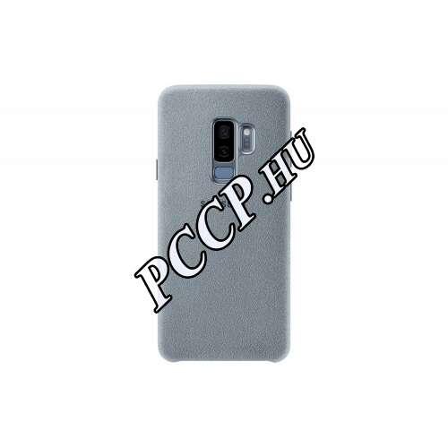 Samsung Galaxy S9 Plus menta bőr hátlap