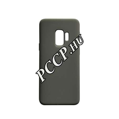 Samsung Galaxy S9 szürke szilikon hátlap