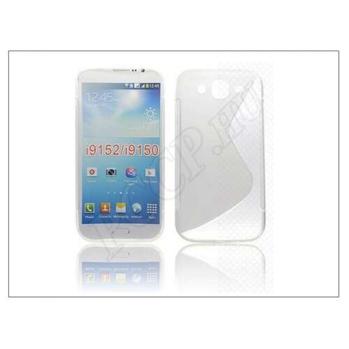 Samsung Galaxy Mega 5.8 átlátszó szilikon hátlap