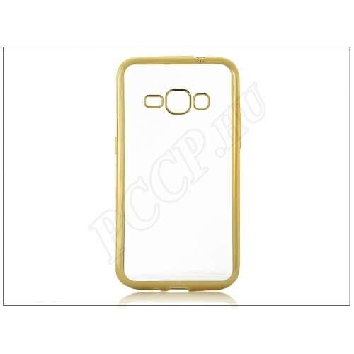 Samsung Galaxy J1 (2016) arany szilikon hátlap