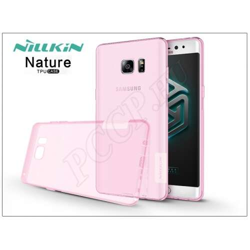 Samsung Galaxy Note 7 pink szilikon hátlap