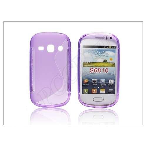 Samsung Galaxy Fame lila szilikon hátlap