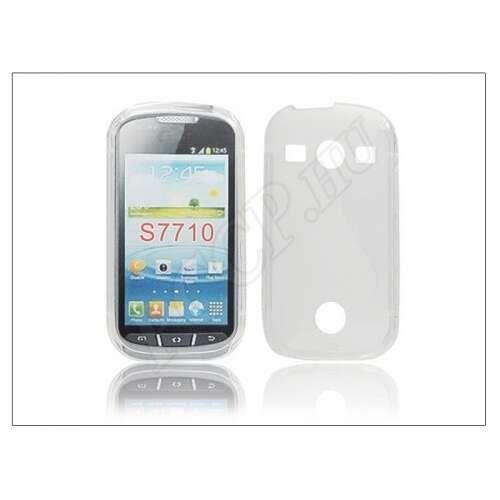 Samsung Galaxy Xcover 2 átlátszó szilikon hátlap