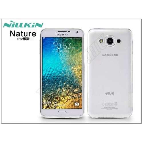 Samsung Galaxy E7 átlátszó szilikon hátlap