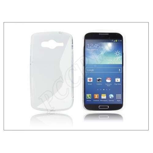 Samsung Galaxy Core átlátszó szilikon hátlap