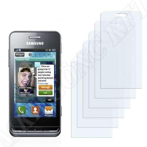 Samsung Wave (S8500) kijelzővédő fólia