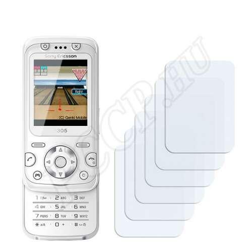 Sony Ericsson F305 kijelzővédő fólia