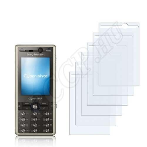 Sony Ericsson K818c kijelzővédő fólia
