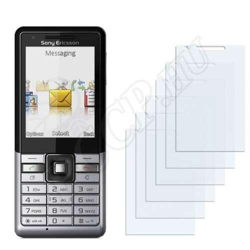 Sony Ericsson Naite kijelzővédő fólia