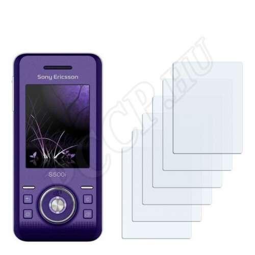 Sony Ericsson S500i kijelzővédő fólia