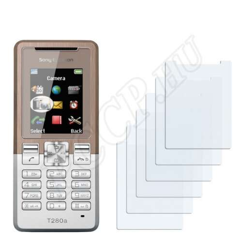 Sony Ericsson T280i kijelzővédő fólia