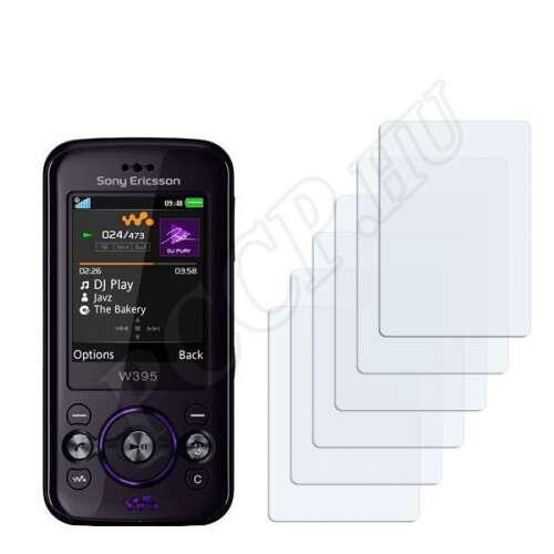 Sony Ericsson W395 kijelzővédő fólia