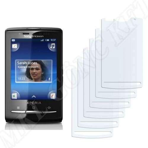 Sony Ericsson X10 Mini Pro kijelzővédő fólia