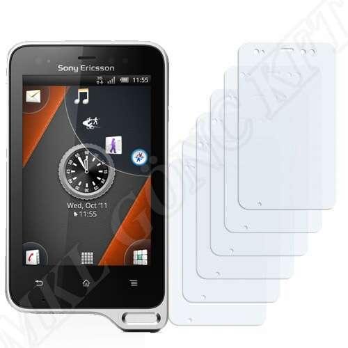 Sony Ericsson Xperia Active (ST17i) kijelzővédő fólia