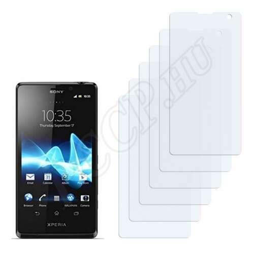 Sony Ericsson Xperia LT29i GX kijelzővédő fólia