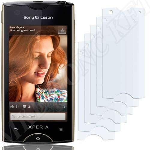 Sony Ericsson Xperia Ray (ST18i) kijelzővédő fólia