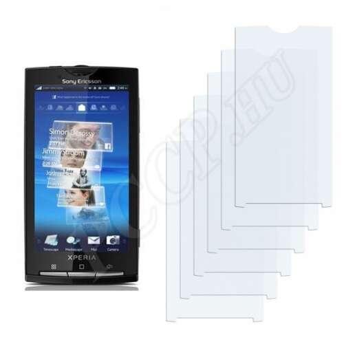 Sony Ericsson Xperia X10i kijelzővédő fólia