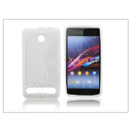 Sony Xperia E1 (D2005) fehér szilikon hátlap