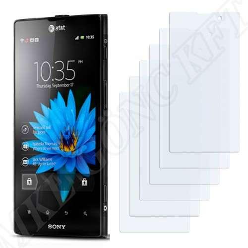 Sony Ericsson Xperia Ion (LT28) kijelzővédő fólia