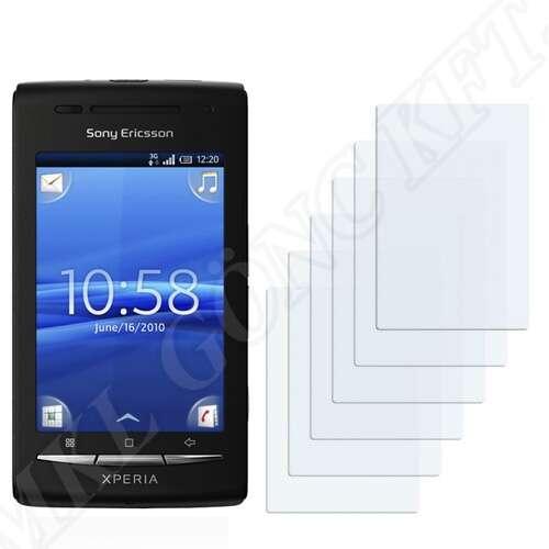 Sony Ericsson Xperia X8 (E15i) kijelzővédő fólia