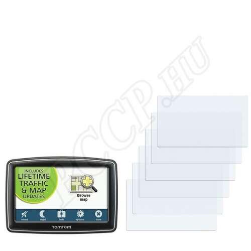 TomTom XL Regional Traffic kijelzővédő fólia