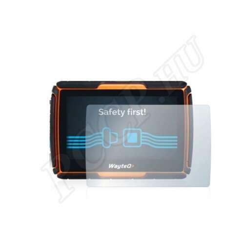 WayteQ xRider GPS kijelzővédő fólia