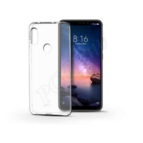 Xiaomi Redmi Note 6 Pro átlátszó szilikon hátlap