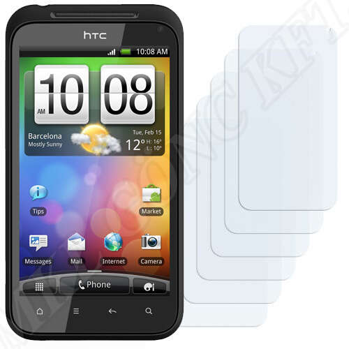 HTC Incredible S S710 / S710e kijelzővédő fólia