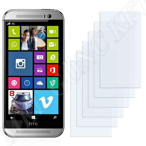 HTC One M8 kijelzővédő fólia