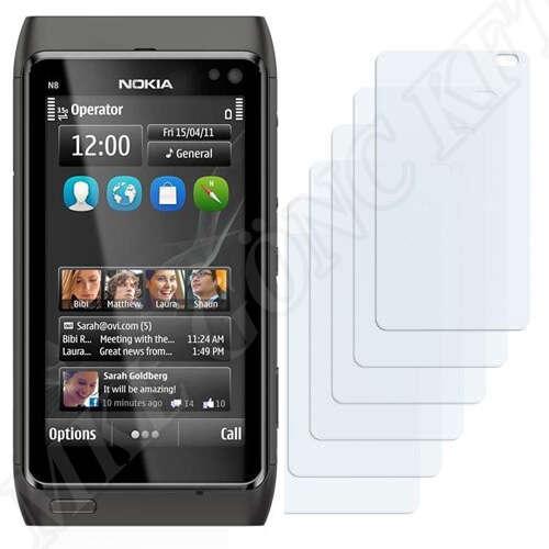Nokia N8 kijelzővédő fólia