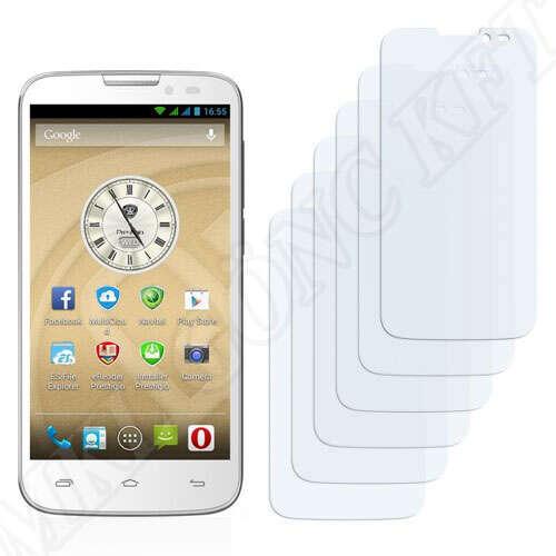 Prestigio MultiPhone 5517 Duo kijelzővédő fólia
