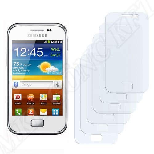 Samsung Galaxy Ace Plus (S7500) kijelzővédő fólia