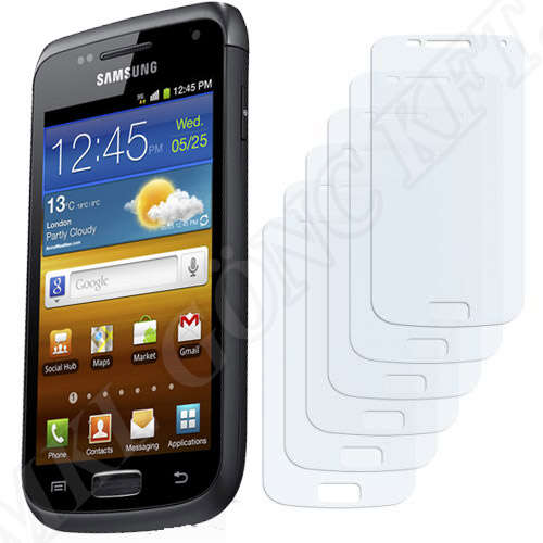 Samsung Galaxy W (I8150) kijelzővédő fólia